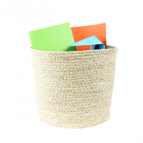 Corbeille à papier naturelle