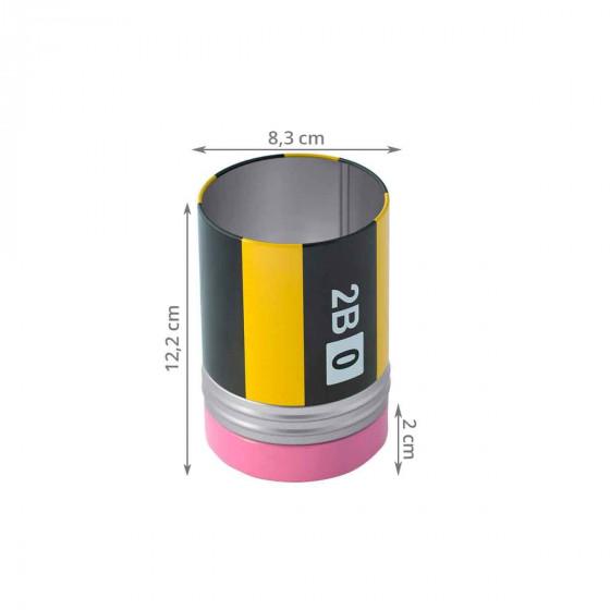 Pot à crayons avec compartiment