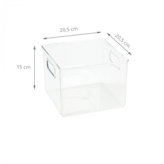 Organisateur M de placard en plastique transparent