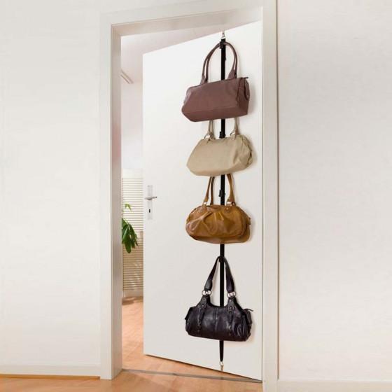 Sangle pour 8 sacs à fixer sur une porte