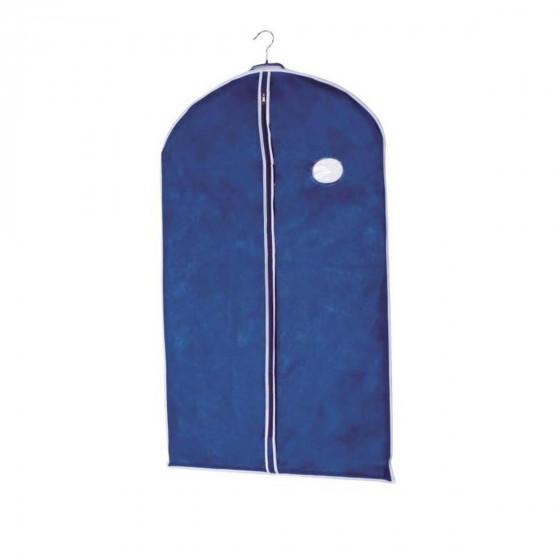 Housse de stockage pour vêtements en intissé respirant bleu M