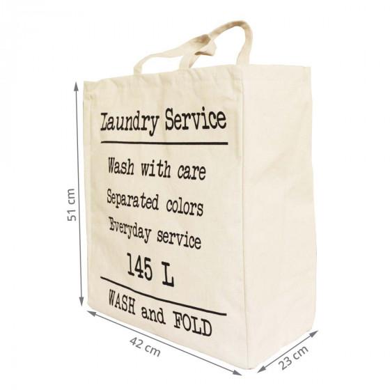 Grand sac à linge sale 145 litres