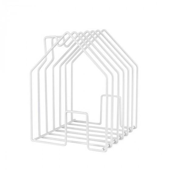 Porte revues en forme de maison