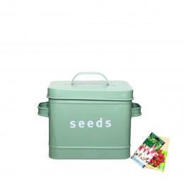 Boîte de rangement graines et semences de jardin