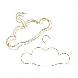 5 cintres en métal enfant nuage