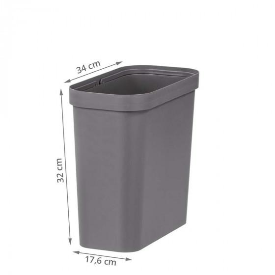 Poubelle 13 litres pour tiroir de cuisine