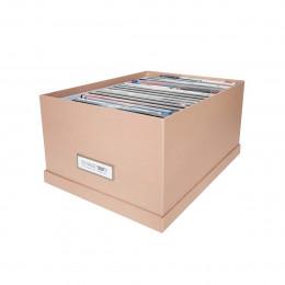 Boîte à DVD en carton rose pastel