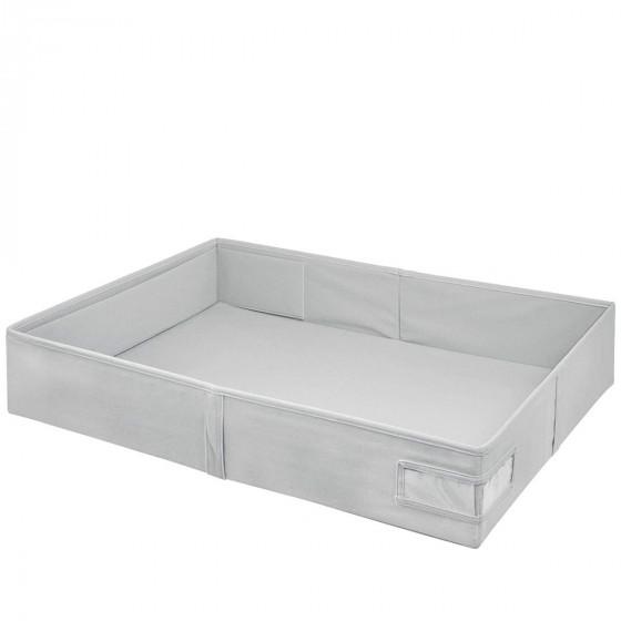Boîte de rangement sous le lit en tissu rigide