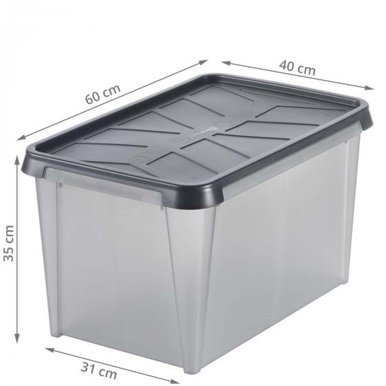 Boîte de rangement étanche 50 litres