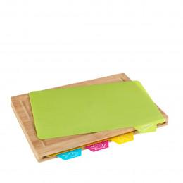 Planche à découper avec tapis 4 en 1
