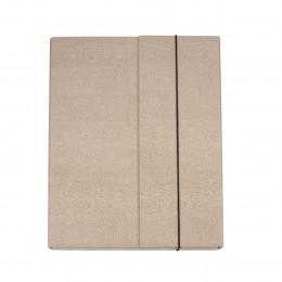 Boîte porte-documents en carton épais à élastique