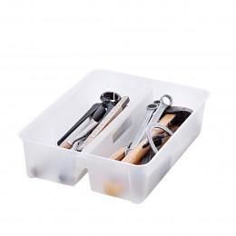 Insert transparent pour boîte 14 litres à 2 compartiments