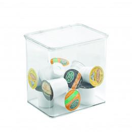 Boîte haute en plastique transparent pour les placards de cuisine