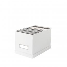 Boîte à CD en carton blanc