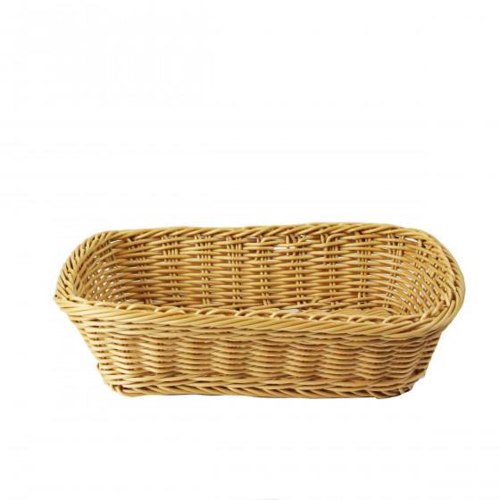 Panier à pain tressé et lavable. Taille M