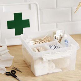 Rangement médicaments - boîtes à pharmacie