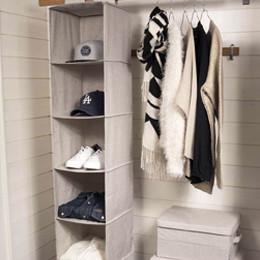 Rangement vêtements - bacs, boîtes, paniers