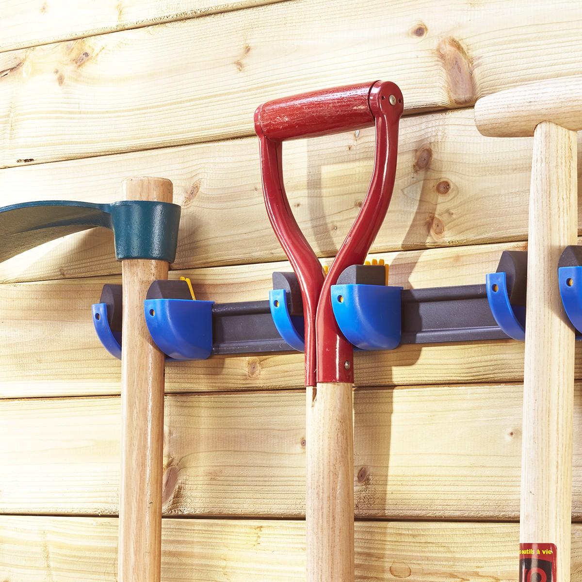 Support de fixation murale pour outils et balais