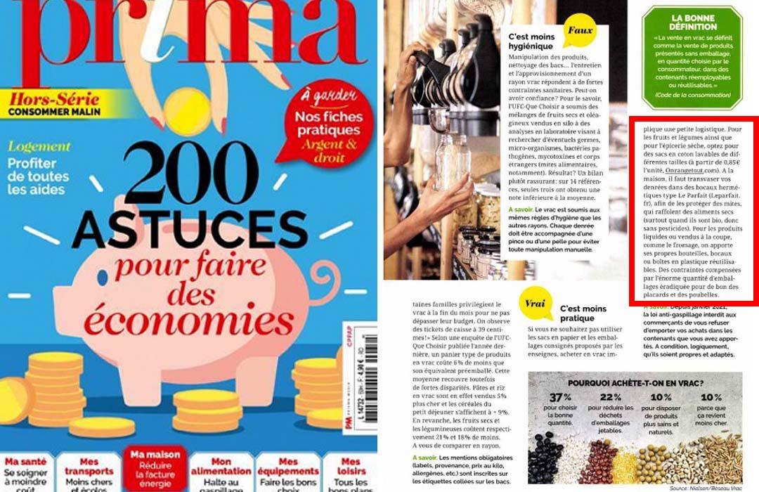 Magazine Prima Hors Série