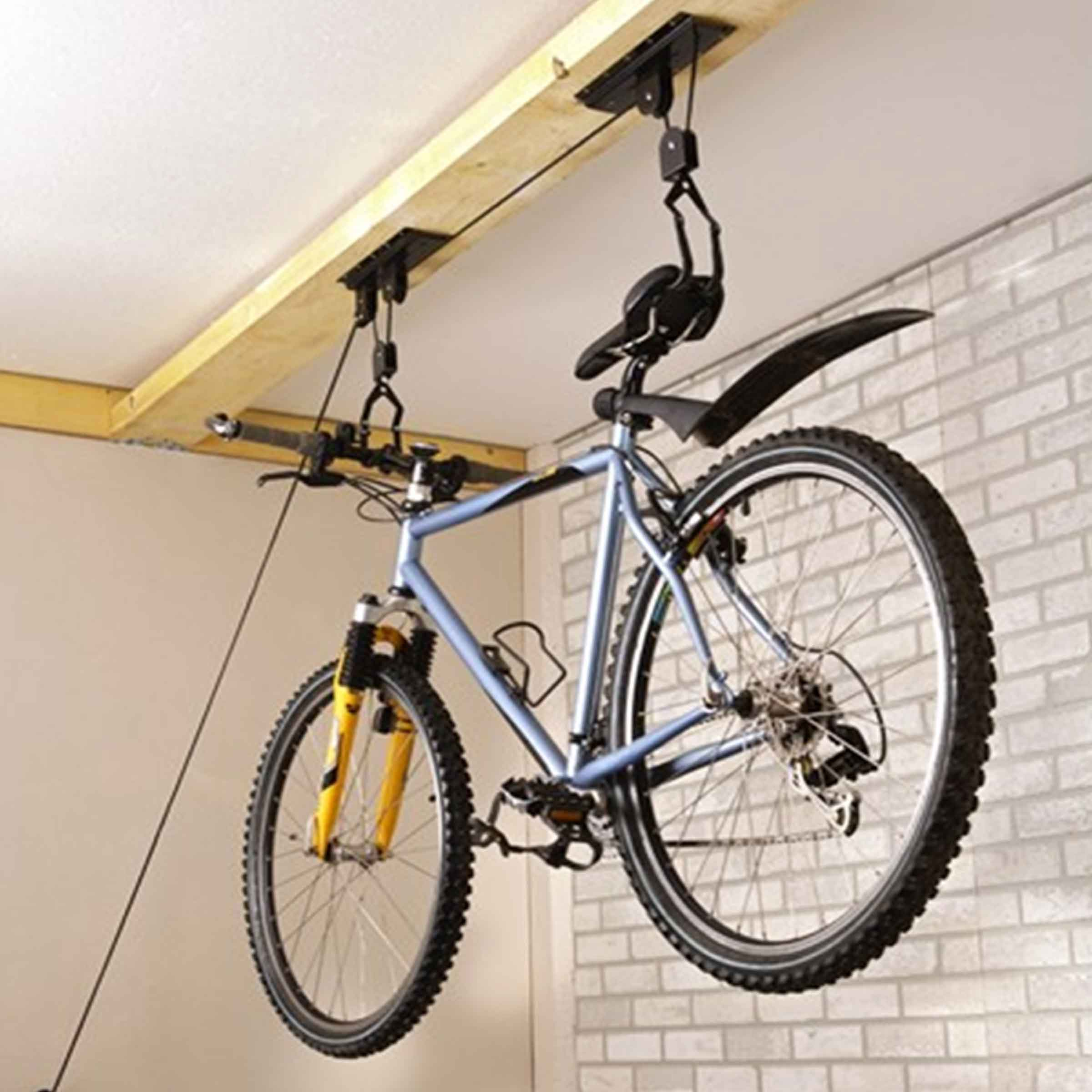 Support suspendu pour vélo