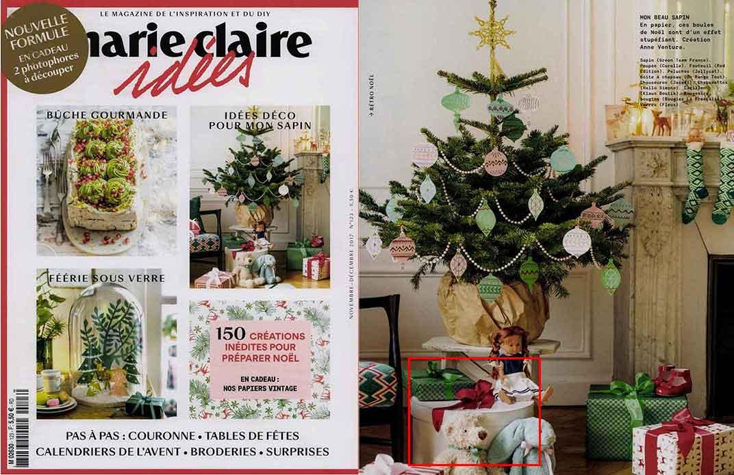 Marie Claire Idées Novembre décembre