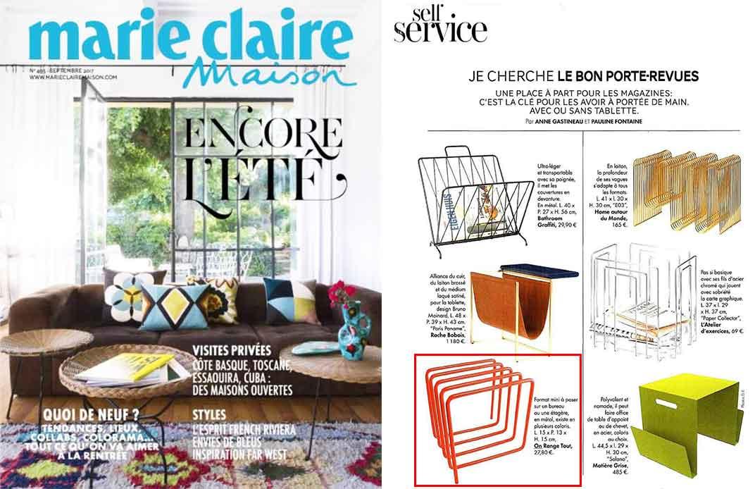 Magazine Marie Claire Maison septembre 2017