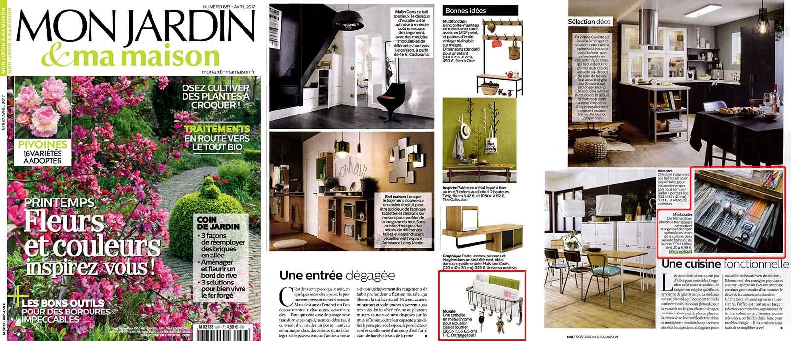 Une du magazine Mon jardin et ma maison